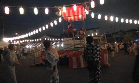 第三回ふれあい盆踊りat天嶽院(9/1,9/2)ポスター完成